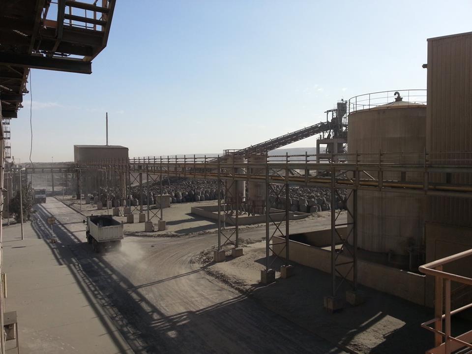 فحم غير قانوني في مصنع لافارج ٢