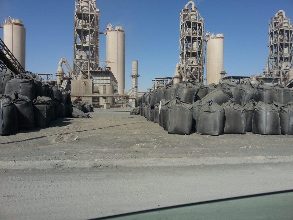 فحم غير قانوني في مصنع لافارج ٣