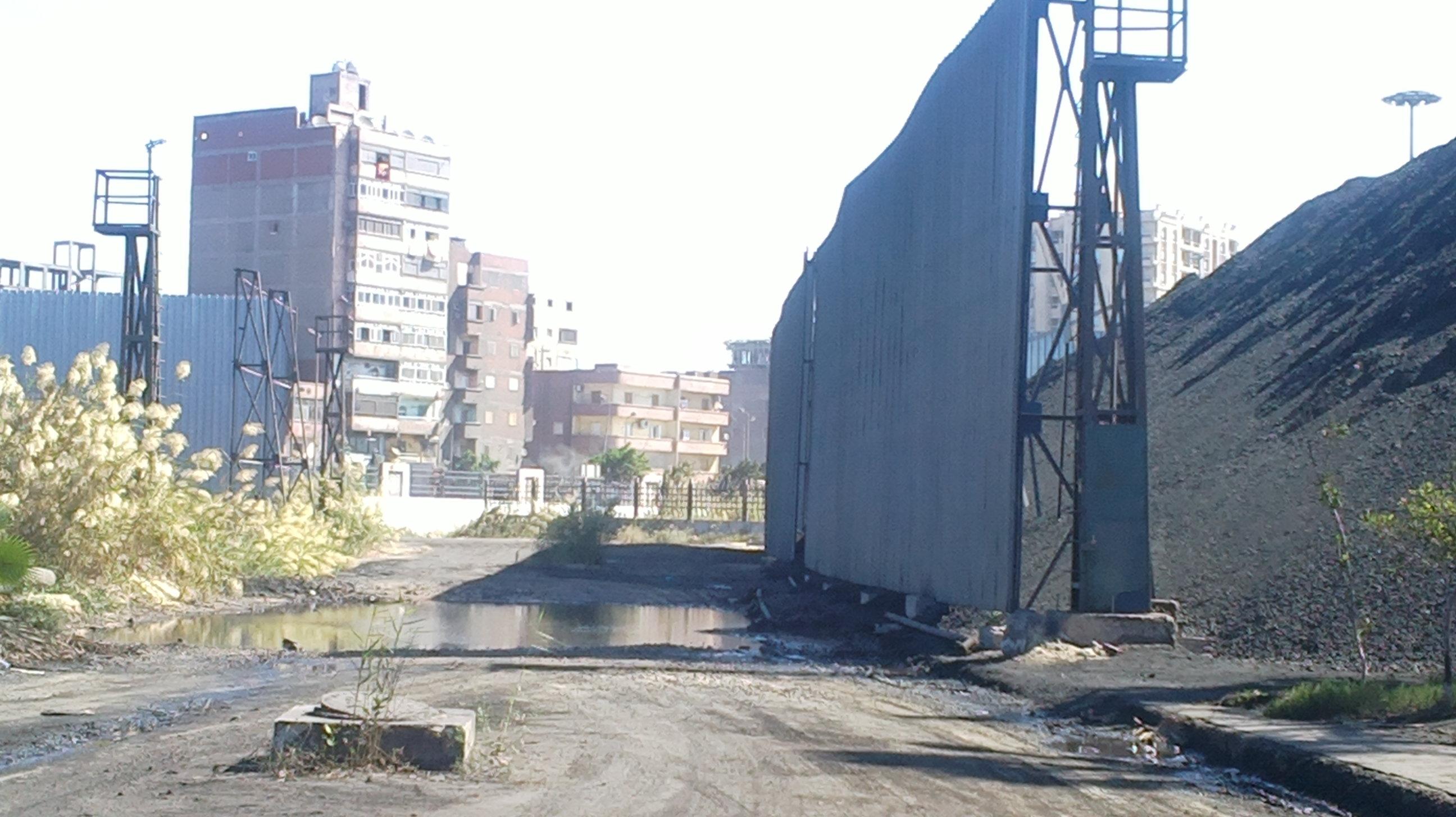 فحم غير قانوني في ميناء الدخيلة، الأسكندرية ١
