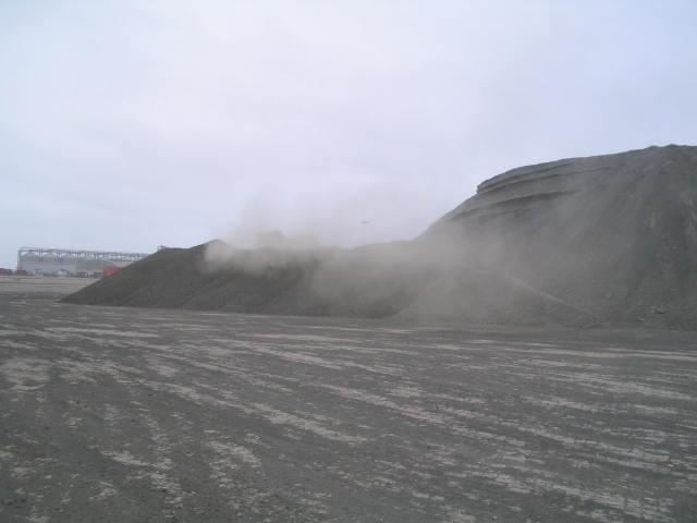 فحم غير قانوني في ميناء الدخيلة، الأسكندرية ٢