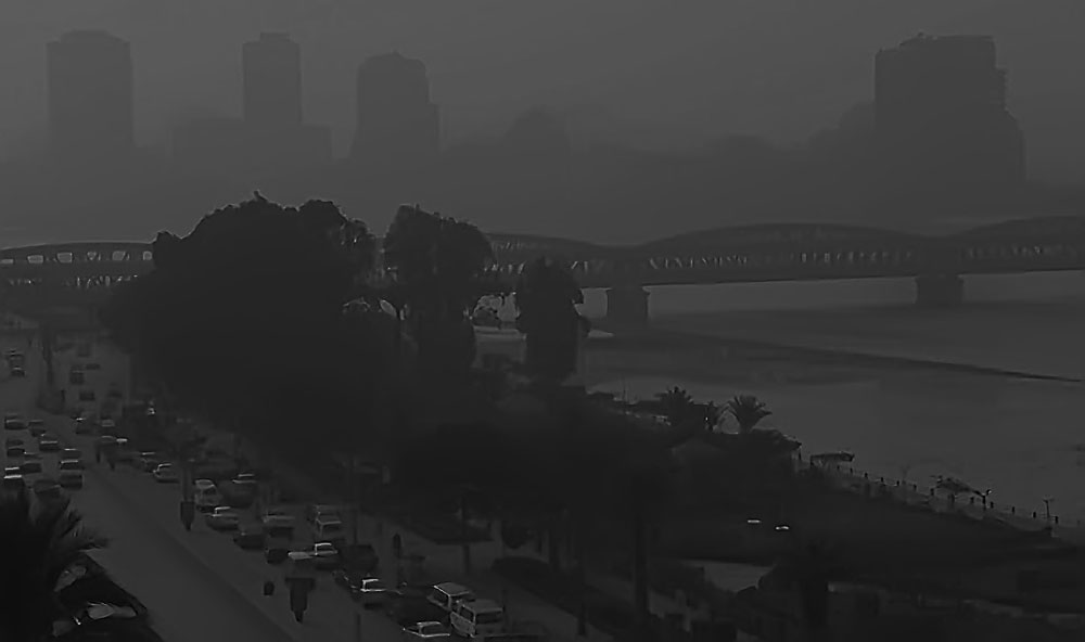 Smoky Sky Of Cairo