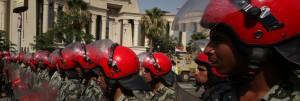 القضاء الإداري يصرح بالطعن على دستورية قانون التظاهر أمام المحكمة الدستورية