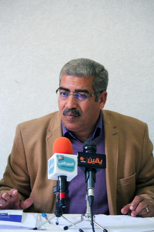 سعود عمر النقابى بهئة قناة السويس ومستشار الاتحاد الاقليمى للنقابات المستقلة بالسويس