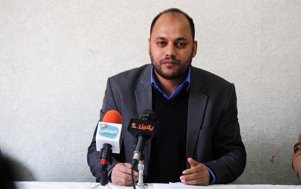 علاء عبدالتواب مدير الوحدة القانونية بالمركز المصري