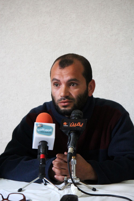 السيد النجار عامل زراعي بمدينة الشروق