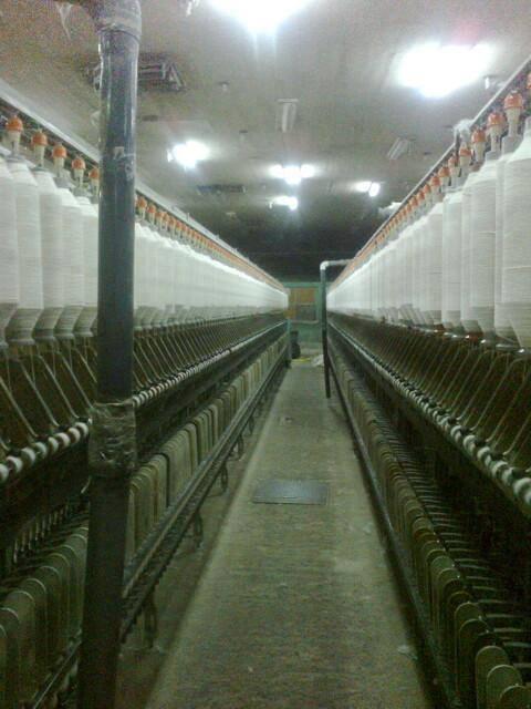 من داخل المصنع وقت الإضراب